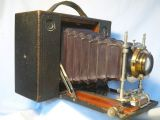 '       1898 NO.4 Cartridge -RARE- ' Kodak No.4 Cartridge Camera RED Bellows £199.99
